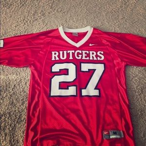 Rutgers football jersey